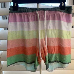 Wild fox sorbet stripes shorts